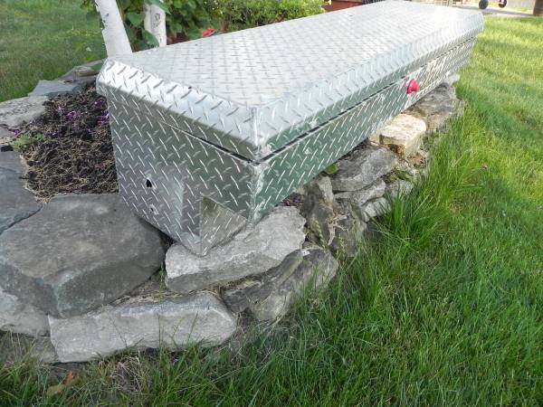 Photo Truck or Trailer Tool Box - $95 (WheatfieldNT)