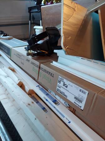 Photo Two cases (24 pieces each) white vinyl siding - $200 (West Seneca)