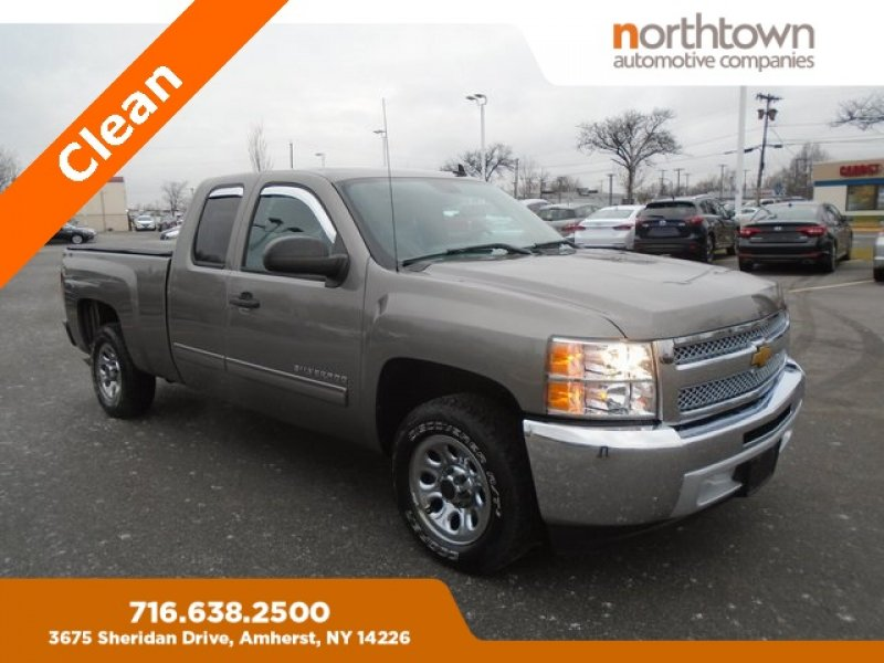 Photo Used 2013 Chevrolet Silverado 1500 2WD Extended Cab LS for sale
