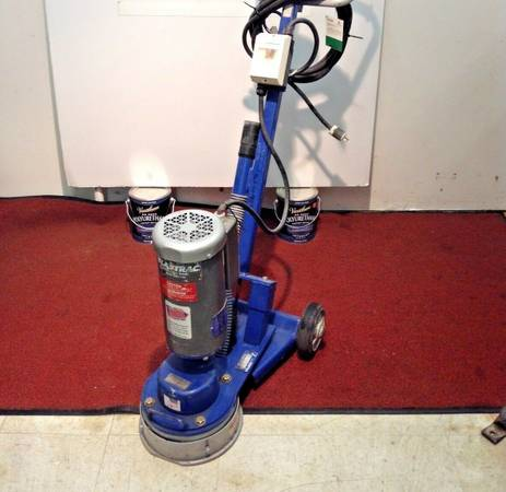 Photo Used Blastrac BGS-250-115 Surface Grinder Tile Removal Floor Stripping - $2,999 (Buffalo New York)