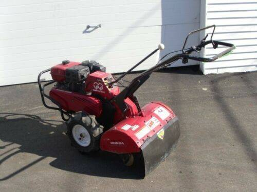Photo Used Honda Rear Tine Roto Tiller Cultivator FRC800 Walk Behind Ground - $2,800 (Amherst)