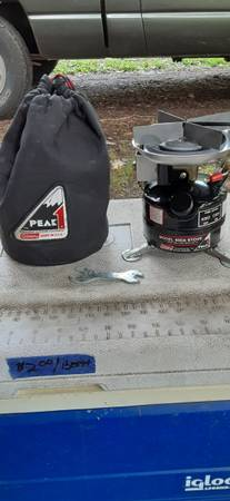 Photo Vintage Coleman Backpack Stove - $25 (South Wales,NY)
