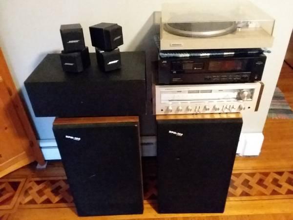 Photo Vintage Stereo System - Pioneer, Bose, JVC - $1,000 (Buffalo)