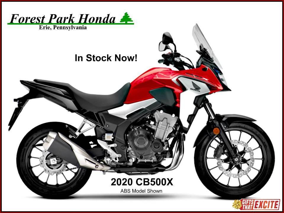 Photo 2020 Honda CB500X $6699