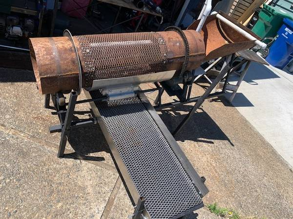 Photo 12quot GOLD trommel, electric - $2,000 (Seattle)