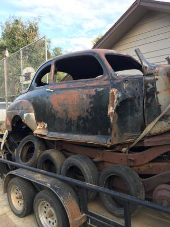 Photo 1946 1947 1948 ford coupe - $500 (Dillon)