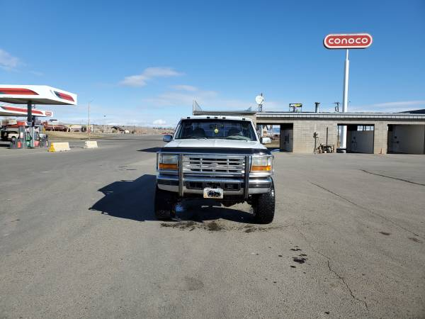 Photo 1996 ford f350 4 door 4x4 460 engine OBO - $5000 (Deer Lodge)