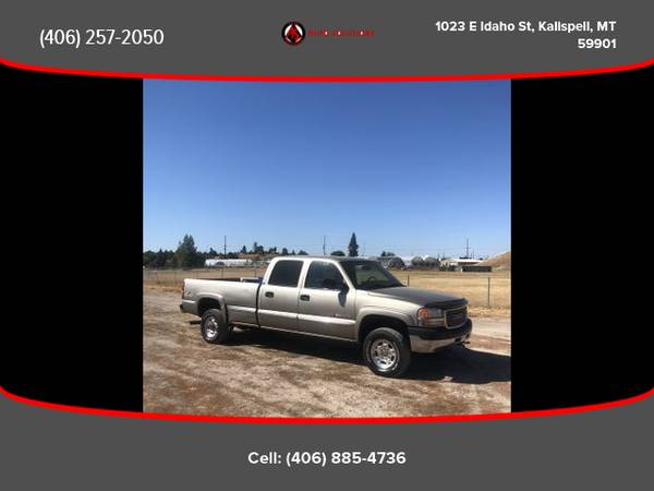 Photo 2001 GMC Sierra 2500 HD Crew Cab - Financing Available - $8988.00
