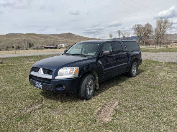 Photo 2006 Mitsubishi Raider - Well Equipped - $7500 (Gold Creek)