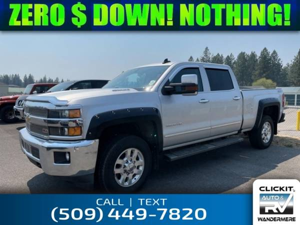 Photo 2016 Chevrolet Silverado 3500HD LTZ 6.6L V8 4x4 Diesel Truck - $55,252 (_Chevrolet_ _Silverado 3500HD_ _Truck_)