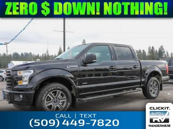 Photo 2017 Ford F-150 XLT EcoBoost 2.7L V6 4x4 Truck - $36,980 (_Ford_ _F-150_ _Truck_)