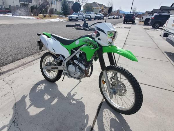 Photo 2020 Kawasaki klx230 street legal 207 miles - $4,200 (Bozeman)