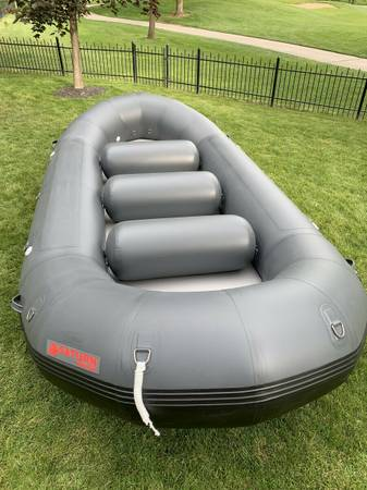 Photo Brand New SaturnTriton Whitewater Raft with 2020 NRS Fishing Frame - $4400 (Sumner, WA)