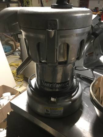 Photo Commercial Juicer - $1200