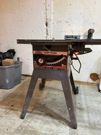 Photo Craftsman Table Saw - $50 (Gallatin Gateway)
