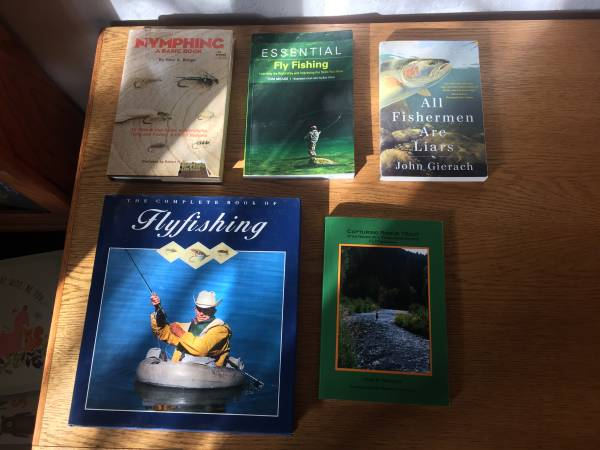 Photo Fly Fishing Book Collection - $40 (Missoula)