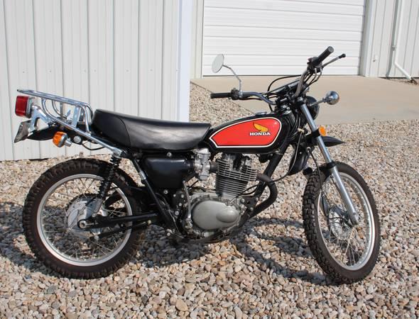 Photo Immaculate quotRarequot 1975 XL 350 Honda Dual Sport Bike - $3,595 (Stevensville)