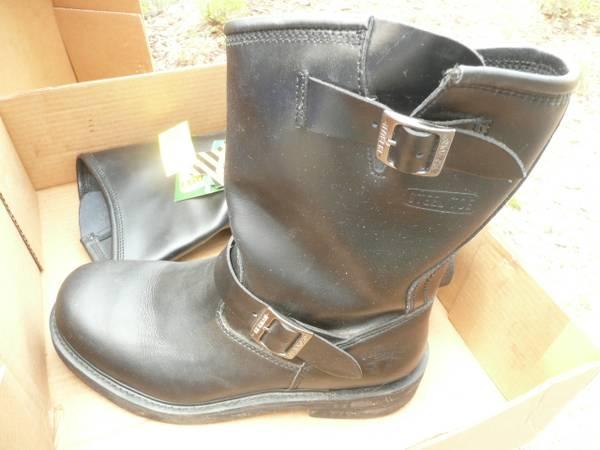 Photo Leather BRAHMA Steel Toe Boots, Men39s 9 - $35 (Missoula)