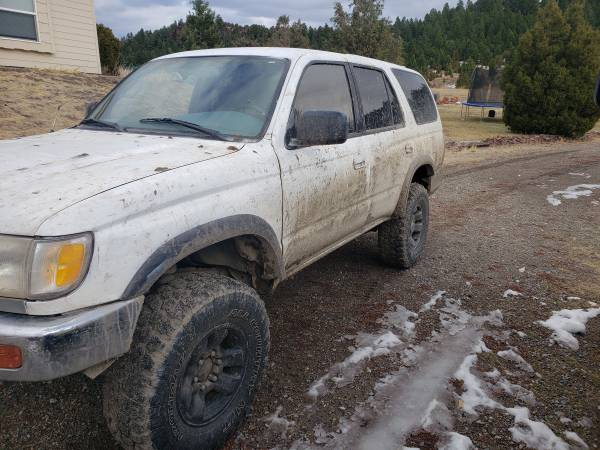 Photo Lifted 1997 Toyota 4runner - $1 (Butte)