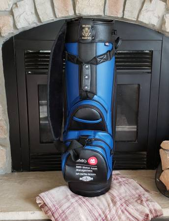 Photo New Belding leather golf bag - $75 (Butte)