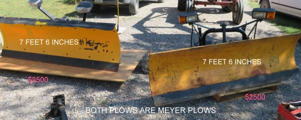 Photo SNOW PLOW MEYERS - $123 (DILLON)
