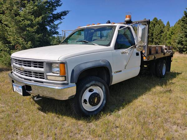 Photo 1994 CHEVY 1 ton 4x4 duely, diesel  LOW MILES  like new  - $8,950 (BUTTE)
