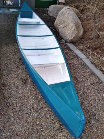 Photo 13ft Aluminum Canoe Smokercraft - $300 (Marion)
