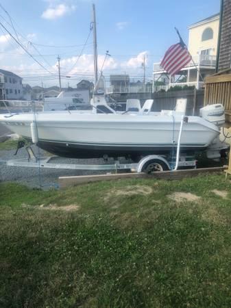 Photo 17 ft 1989 Searay Open Boat - $9,500 (Plymouth)