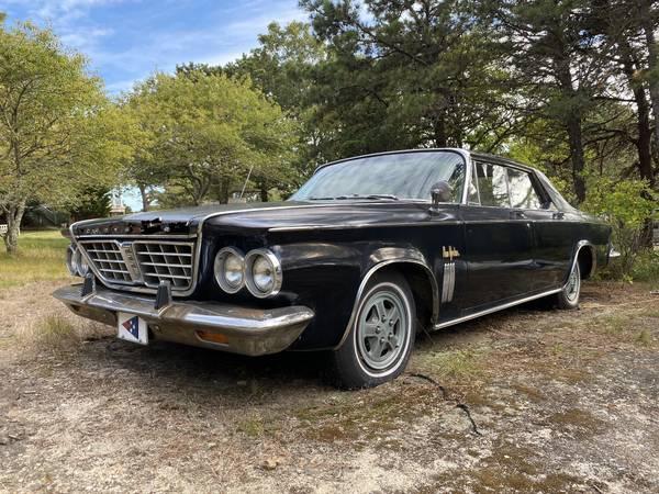 Photo 1963 Chrysler New Yorker - $4,500 (Chappaquiddick)