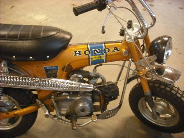 Photo 1970 Honda CT 70cc - $1000 (Yarmouth)