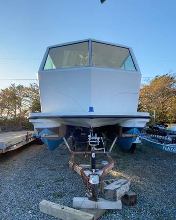 Photo 1970 Houseboat 90 hp outboard - $21,000 (Truro)