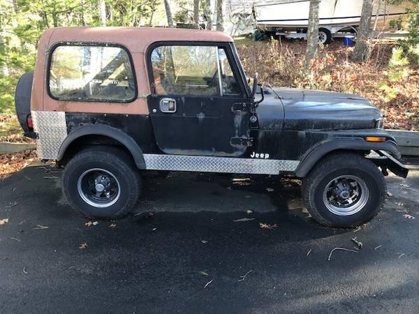 Photo 1985 Jeep CJ7 - $2000 (Bourne)