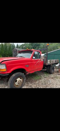 Photo 1997 Ford 7.3 powerstroke engine and transmission - $500 (Buzzards Bay)