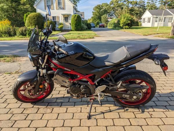 Photo 2018 Suzuki SV650 ABS - $6,400 (Falmouth)