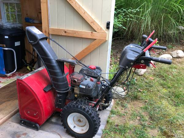 Photo 28quot Two Stage Electric Start Snow Blower - $225 (Brewster)