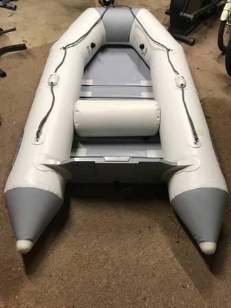 Photo 3.3hp Mercury Outboard W 8.5 West Marine Zodiac Inflatable Boat - $750 (Buzzards Bay)