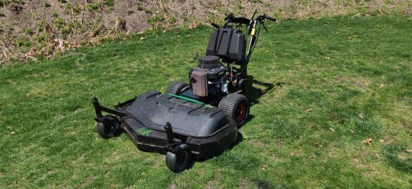 Photo 48quot CushmanRansomes walk behind - $800 (Plymouth)