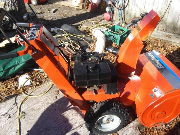 Photo 8 up simplicity 2 stage snow blower - $100 (West Yarmouth)