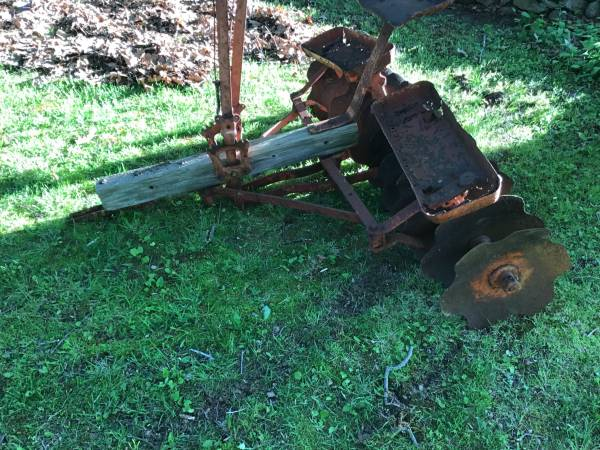 Photo Antique Horse Drawn Disk Harrow - $300 (Glocester R.I.)
