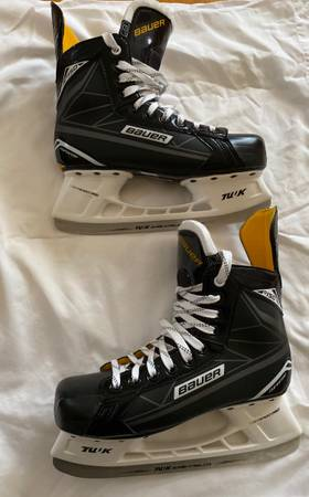 Photo Bauer Supreme S150 Ice Skates- size 8 perfect condition - $75 (Falmouth)