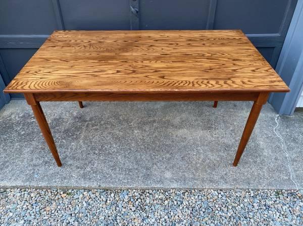 Photo Beautiful Oak Dining Room Table, Rectangular shape, excellent shape - $350 (Buzzards bay)