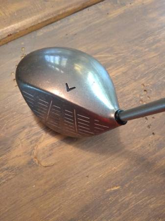 Photo Callaway Great Big Bertha Hawkeye driver excellent condition - $35 (On Cape Cod or just off theCape Cod)