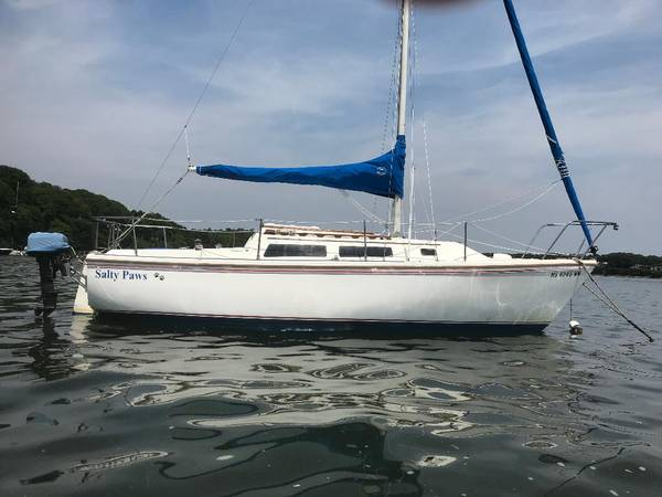 Photo Catalina C-25 Sailboat with Trailer - $6,000 (Cotuit, MA)