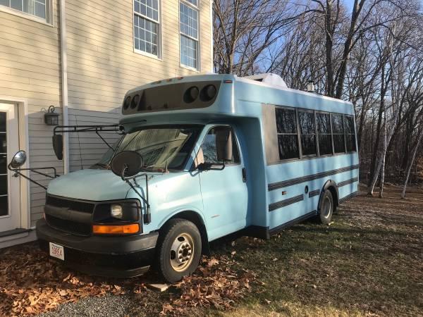 Photo Chevy 3500 RV-Bus conversion - $25,000 (West Boxford)