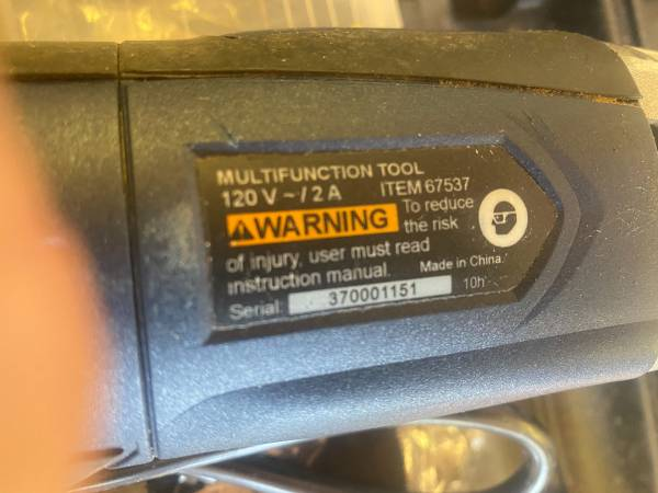 Photo Chicago electric multi function tool - $25 (Harwich)