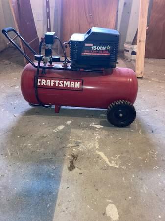 Photo Craftsman 15 gallon 150 psi compressor - $175 (South Yarmouth MA)