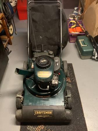Photo Craftsman 4.5HP Yard Vacuum - $250 (Fall River)
