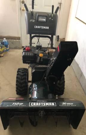 Photo Craftsman Snow Blower - $400 (Westport MA)