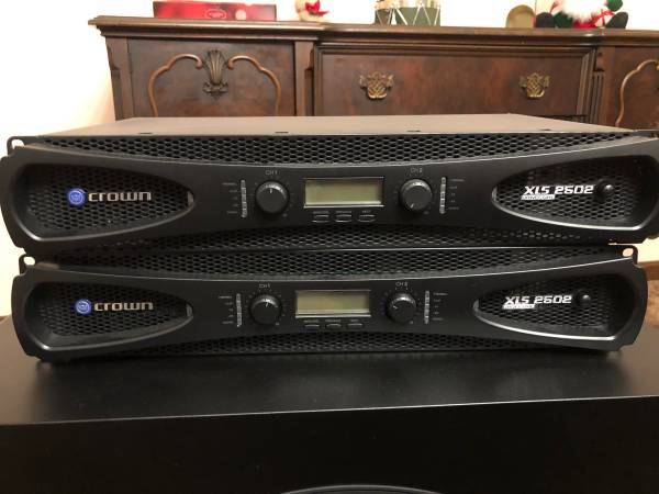 Photo Crown XLS 2502 lifiers and Dayton subwoofers - $500 (Barnstable)