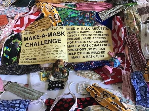 Photo FREE SEWING MACHINES TO NON PROFIT MASK MAKERS (DENNIS HARWICH LIONS)